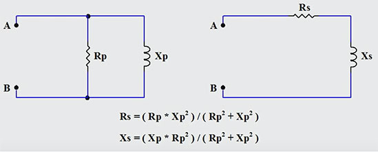 Two circuit diagrams
