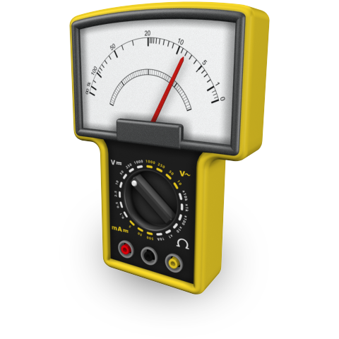 Image of a handheld meter