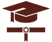 Icon of graduate academic cap